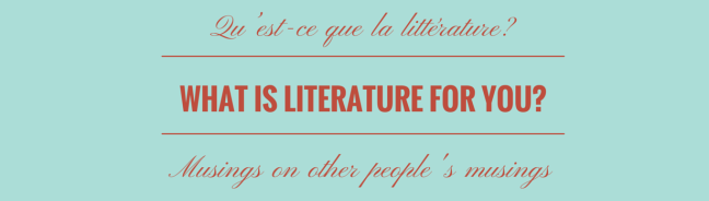 what is literature to you